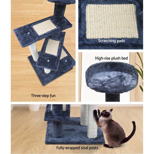 Cat Scratch Tree, Grey, 100cm
