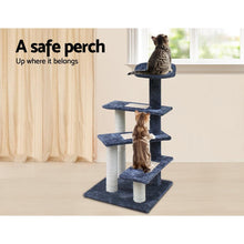 Load image into Gallery viewer, Cat Scratch Tree, Grey, 100cm