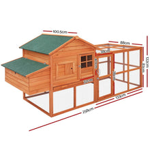 Load image into Gallery viewer, Rupert Wooden Chicken Coop, 3XL