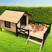 Load image into Gallery viewer, Wooden Dog Kennel, XXL