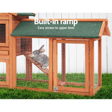 Load image into Gallery viewer, Winslow Wooden Pet Hutch, 2-Storey