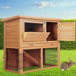 Tall Fir Wood Pet Coop, 86cm