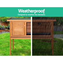 Load image into Gallery viewer, Rabbit Hutch with Hinged Lid