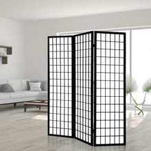 Load image into Gallery viewer, Keiko Room Divider, 3 Panel, Black
