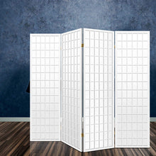 Load image into Gallery viewer, Keiko Room Divider, 4 Panel, White