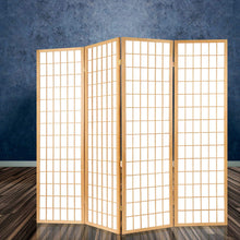 Load image into Gallery viewer, Keiko Room Divider, 6 Panel, Natural
