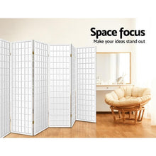 Load image into Gallery viewer, Keiko Room Divider, 8 Panel, White