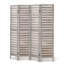 Load image into Gallery viewer, Elodie Room Divider, 4 Panel, Grey