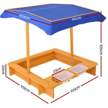 Load image into Gallery viewer, Children Canopy Sand Pit