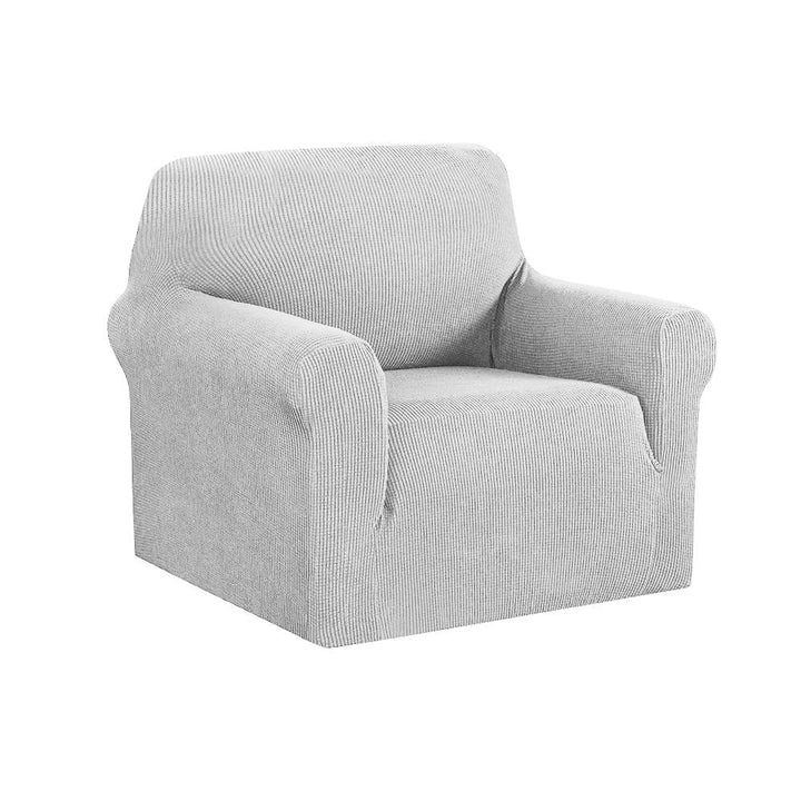 Armchair Cover, High Stretch, 1 Seater, Grey