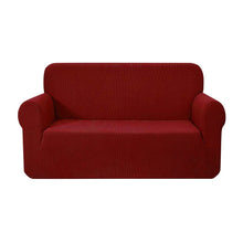 Load image into Gallery viewer, Artiss High Stretch Sofa Cover Couch Protector Slipcovers 2 Seater Burgundy