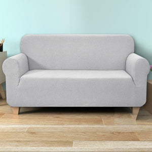 Sofa Cover, High Stretch, 3 Seater, Grey