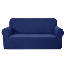 Load image into Gallery viewer, Artiss High Stretch Sofa Cover Couch Protector Slipcovers 3 Seater Navy