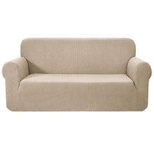Load image into Gallery viewer, Artiss High Stretch Sofa Cover Couch Protector Slipcovers 3 Seater Sand