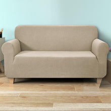 Load image into Gallery viewer, Sofa Cover, High Stretch, 3 Seater, Sand