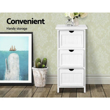 Load image into Gallery viewer, Reeana Dresser, 3 Drawer, Wood, White