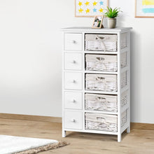 Load image into Gallery viewer, Reeana Dresser, 10 Drawer, Wood, White