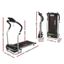 Load image into Gallery viewer, Treadmill, Electric, 6 Speed, Black