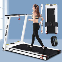 Load image into Gallery viewer, Treadmill, Electric, Compact, Fully Foldable, White