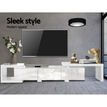 Load image into Gallery viewer, Langdon Entertainment Unit, Adjustable, White, 290cm