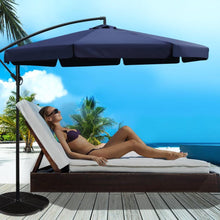 Load image into Gallery viewer, Sun Hut Outdoor Umbrella, Navy