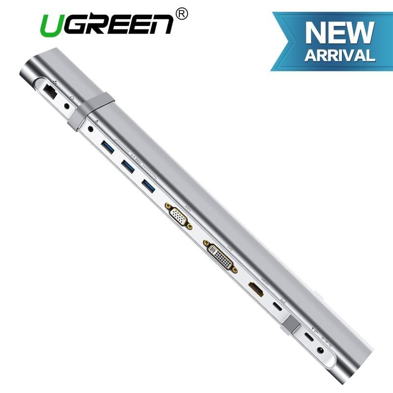 UGREEN USB-C Multifuntional Docking Station Sliver (40373)