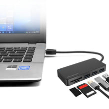 Load image into Gallery viewer, Simplecom 3 Port USB 3.0 Hub with Dual Slot Card Reader