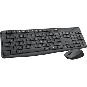 Logitech Keyboard and Mouse, Wireless, MK235