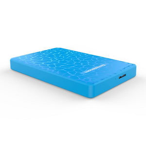 Simplecom SE101 SATA to USB 3.0 HDD/SSD Enclosure, Blue