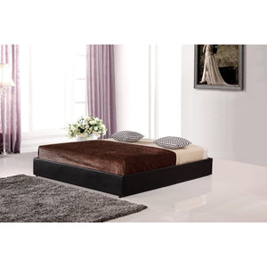 Ensemble Bed Frame, PU Leather, King