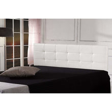 Load image into Gallery viewer, PU Leather King Bed Deluxe Headboard Bedhead - White
