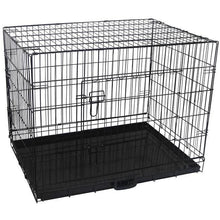 "Load image into Gallery viewer, 36"" Pet Dog Crate with Waterproof Cover"
