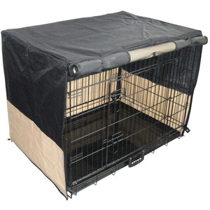 Pet Dog Crate with Waterproof Cover, 36""