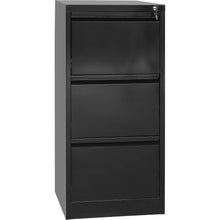 Load image into Gallery viewer, Filing Storage Locker Cabinet, 3 Door, Black