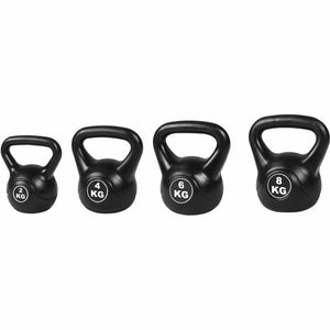 Kettlebell Weight Set, 4 Piece, 20kg