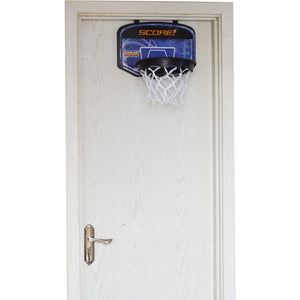 Hamper Basketball Laundry Hoop Hanging Clothes Basket Storage Kids Fun Door Bag