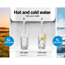 Load image into Gallery viewer, Water Cooler, Hot, Cold, Purifier, 22L, White