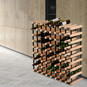 Wine Rack, Natural, 72 Bottles