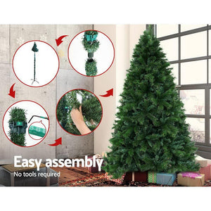 Christmas Tree, Green, 1024 Tips, 1.8M, 6ft.