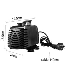Load image into Gallery viewer, Aquarium Water Pump, Submersible, 2500L/H