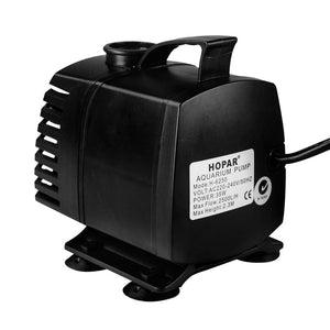 Aquarium Water Pump, Submersible, 2500L/H