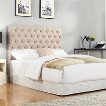 Load image into Gallery viewer, Headboard, Linen, Beige, Double
