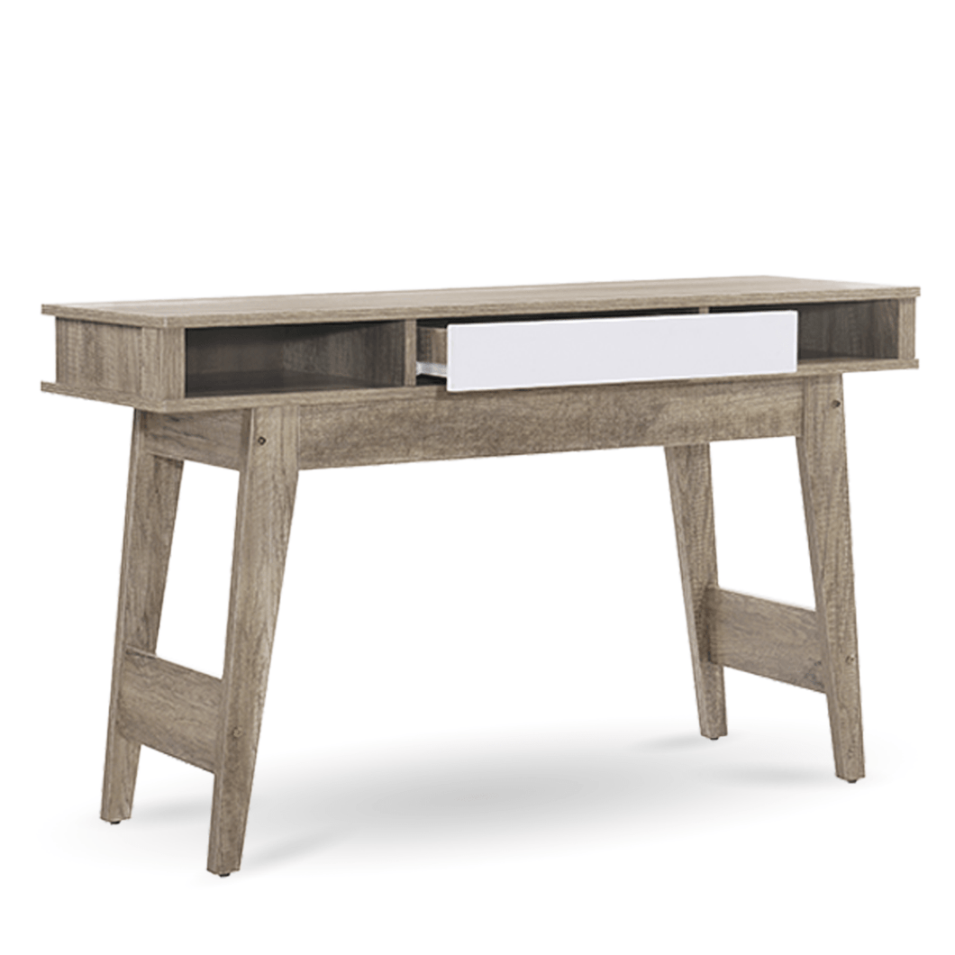 Console Hallway Table, Oak, 120 x 40 x 73cm