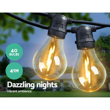 Load image into Gallery viewer, A19 LED Festoon Bulbs, 40 Bulbs