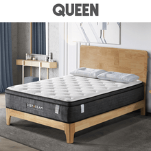 Load image into Gallery viewer, Eurotop Mattress, 5 Zone Pocket Spring, Latex Foam, 34cm, Queen