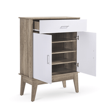 Load image into Gallery viewer, Shoe Cabinet, Oak