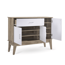 Load image into Gallery viewer, Large Shoe Cabinet - Oak
