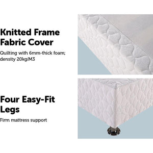 Ensemble Frame Bed Base, King