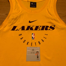 Load image into Gallery viewer, LA Lakers Elite Tank Nike Jersey
