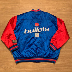 Baltimore Bullets Hardwood Classics Heavy Bomber Jacket